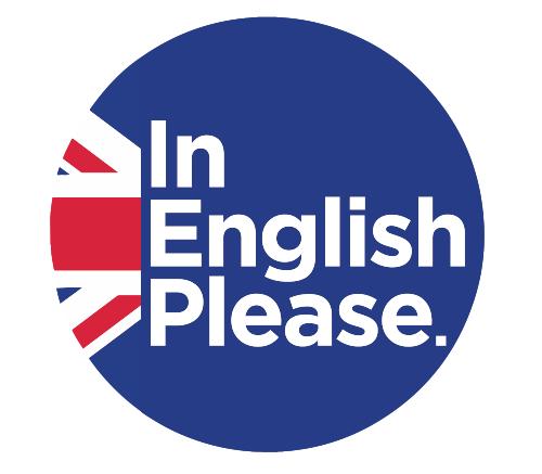 logo de In English Please